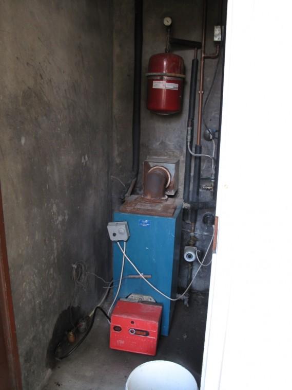 Old Old Boiler