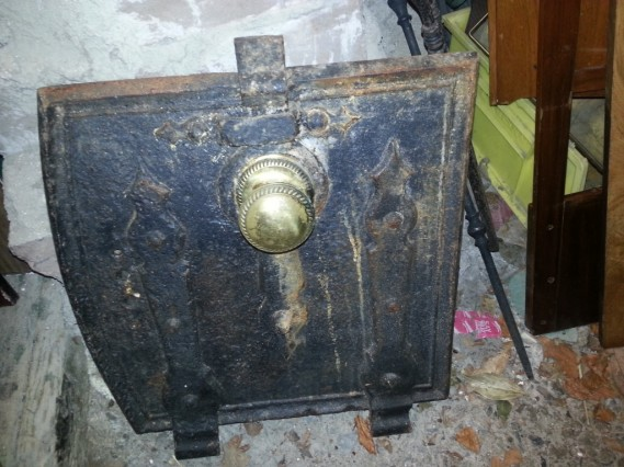 Old range door
