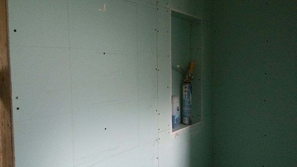 Building Work Weeks 8 Amp 9 Plasterboard Niches And
